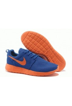 Кроссовки Nike Roshe Run II Blue/Ora (OV-514)