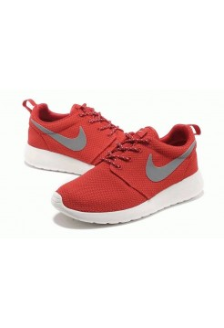 Кроссовки Nike Roshe Run II Red Grey (OV-214)