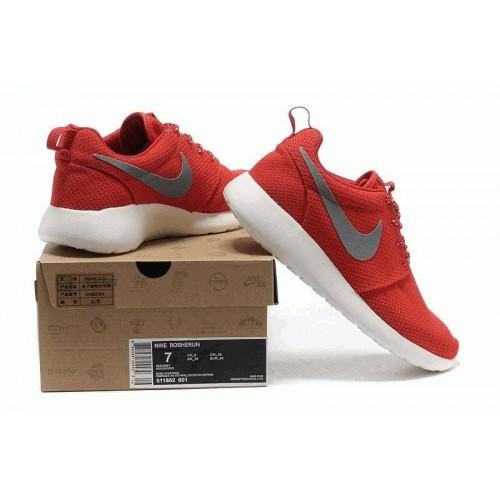 Кроссовки Nike Roshe Run II Red Grey (OV-214)