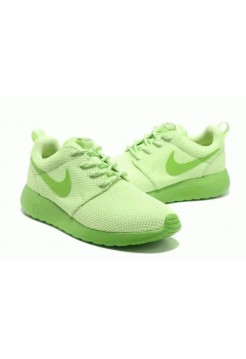 Кроссовки Nike Roshe Run II Lime Green (О433)