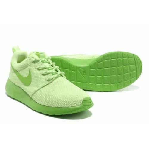 Кроссовки Nike Roshe Run II Lime Green (О433)