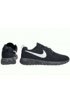 Кроссовки Nike Roshe Run Point All Black (РМVА511)