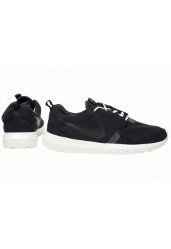 Кроссовки Nike Roshe Run Suede New Black
