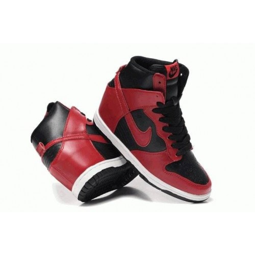 Кроссовки Nike Dunk Sky Red Black