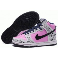 Кроссовки Nike Dunk High Pink/Grey