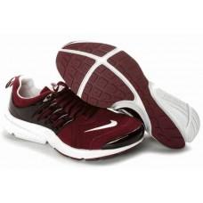 Кроссовки Nike Air Presto Red Leather (О-327)
