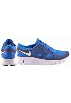 Кроссовки Nike Free Run Blue/Wh