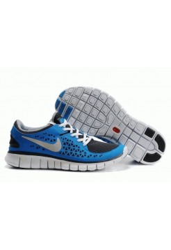 Кроссовки Nike Free Run Plus Blue/Wh