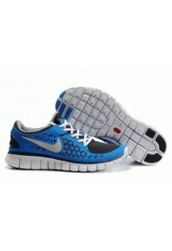 Кроссовки Nike Free Run Plus Blue/Wh