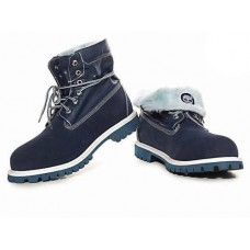 Ботинки Timberland Roll Top Blue (О499)