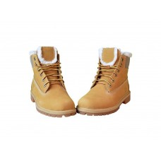 Ботинки Timberland 6 inch Yellow Winter China Edition (с мехом)