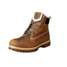 Ботинки Timberland 6 inch Brown Winter China Edition (с мехом)