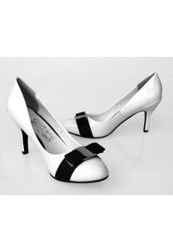 Туфли Salvatore Ferragamo 1 White (О429)