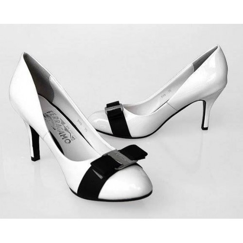 Туфли Salvatore Ferragamo 1 White (О429)