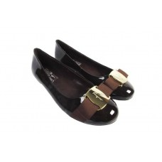Балетки Salvatore Ferragamo Simple Brown