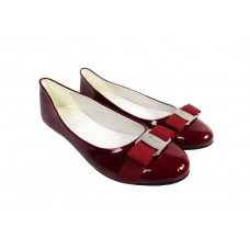 Балетки Salvatore Ferragamo Simple Red 2 (О429)
