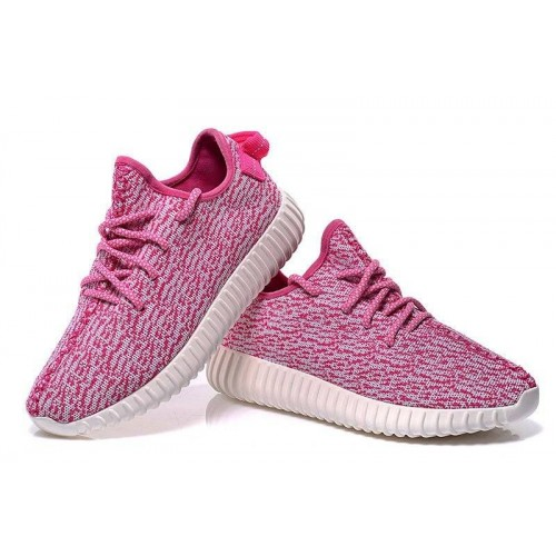 Кроссовки Adidas Yeezy Boost 350 Low Pink (O532)