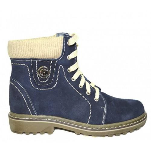 Женские зимние ботинки Forester 0426