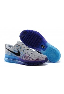 Кроссовки Nike Air Max Flyknit G/Bl/P/B (Е422)