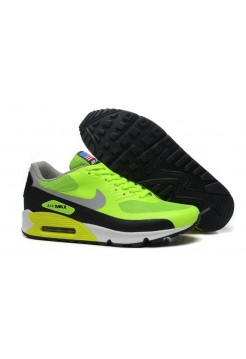 Кроссовки Nike Air Max 90 Hyperfuse Green/Black USA (О421)