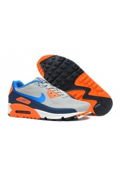 Nike Air Max 90 Hyperfuse Orange/Gr/Blue (О-351)
