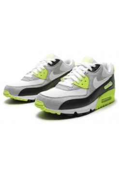 Кроссовки Nike Air Max 90 Gr/Bl/wh (О-357)