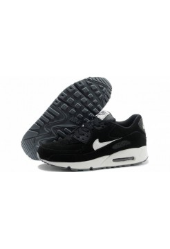 Кроссовки Nike Air Max 90 Essential Black Sail White Suede