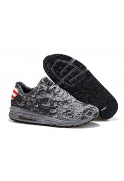 Кроссовки Nike Air Max Lunar 90 SP USA Reflective Silver Metallic