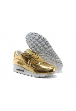 Кроссовки Nike Air Max 90' Gold (О-328)