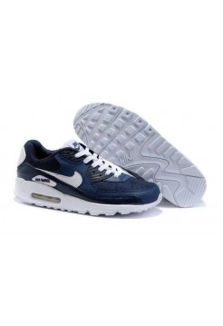 Кроссовки Nike Air Max 90 Blue/Wh (О-245)