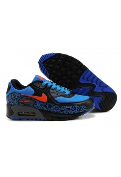 Кроссовки Nike Air Max 90 Red/Blk/Blu