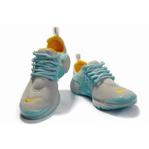 Кроссовки Nike Air Presto Сине/серые (О-217)