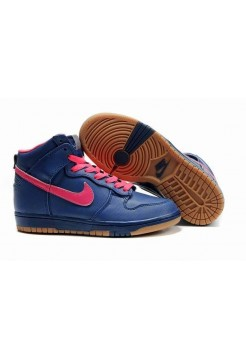 Кроссовки Nike Dunk High Pnk/Blue