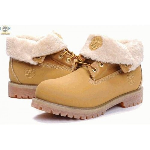 Ботинки Timberland Roll Top С мехом (OK-217)