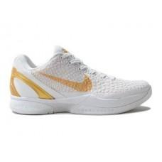 Кроссовки Nike Zoom Kobe 6 Белые (О-361)