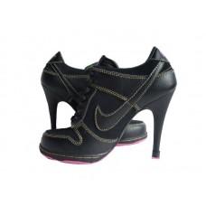 Ботиночки Nike Dunk Low Heels Black