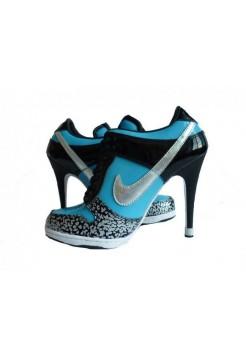 Ботиночки Nike Dunk Low Heels 3601W