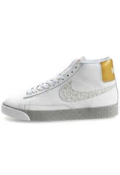 Кроссовки Nike Blazer High Pure/White