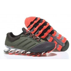 Кроссовки Adidas Springblade 2 Drive Grey/Orange (О835)