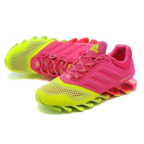 Кроссовки Adidas Springblade 2 Drive Pink/Yellow (О877)