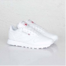 Кроссовки Reebok Classic Leather White (ОМVЕ-217)