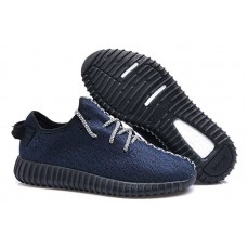 Кроссовки Adidas Yeezy Boost 350 Low Dark Blue (ОЕ322)