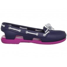 Crocs Beach Line Boat Shoe Purple Pink
