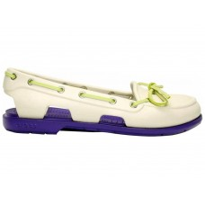 Crocs Beach Line Boat Shoe Milk Purple