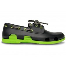 Crocs Beach Line Boat Shoe Dark Grey Green