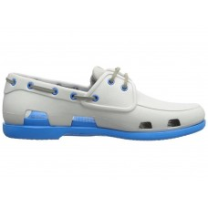 Crocs Beach Line Boat Shoe Grey Blue
