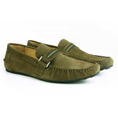 Мокасины Zara Boats Green