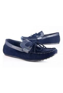 Мокасины Zara Boats Blue