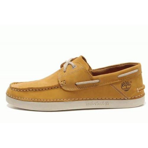 Туфли Timberland Mens Classic 2-Eye Boat Shoes Yellow (О429)