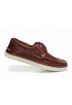 Туфли Timberland Mens Classic 2-Eye Boat Shoes Burgundy
